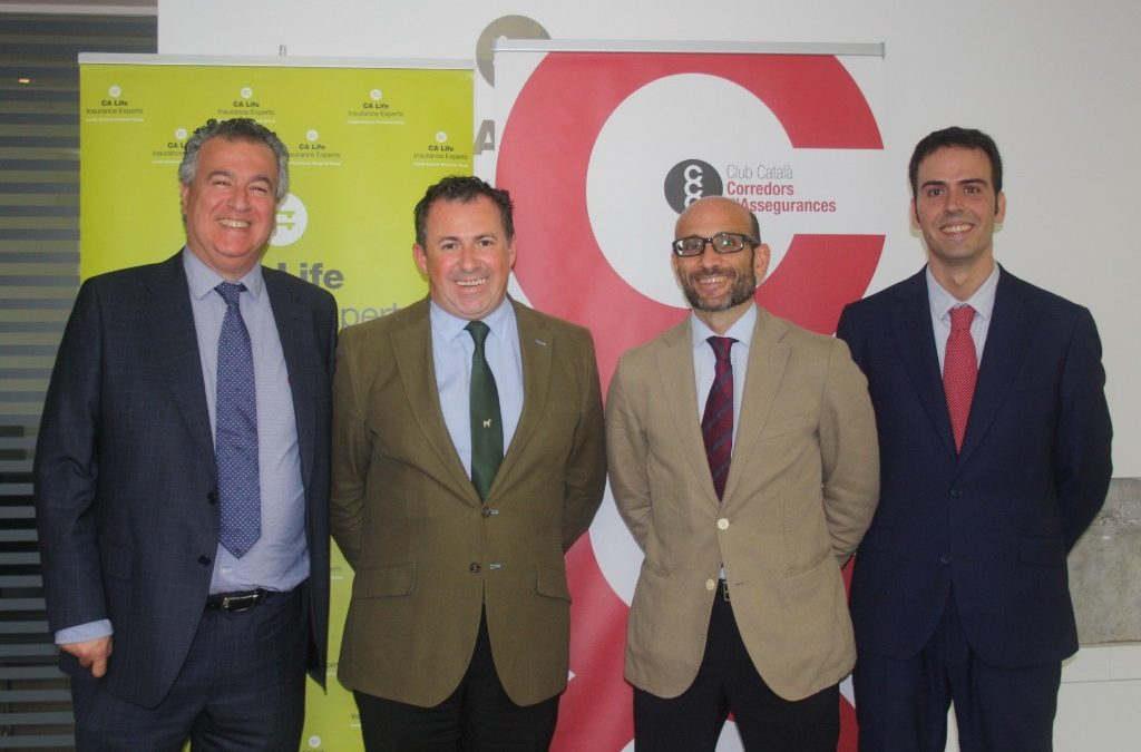 CA Life and Club Català de Corredors d'Assegurances (CCC) renew their collaboration agreement until 2020